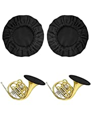 Snowki Reusable Music Instrument Bell Cover - 5' Thickening Flannelette Trumpet cover for Trumpet Alto Saxophone Bass Clarinet Cornet bell Cover