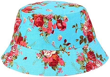 ZLYDXMD Gorra Ajustable Flores Impresas Sombreros Mens Pescador ...