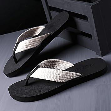 d056f6147 AIHUWAI Sandals Men Sandals Flip-Flops Men S Summer Leisure Non-Slip Rubber Flip  Flops Sandals And Slippers Wear Flap Sandals  Amazon.co.uk  Sports   ...