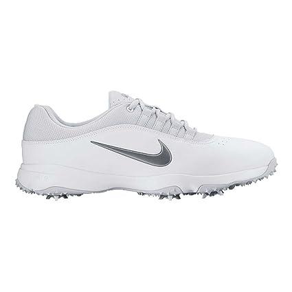 Amazon.com  Nike 818728-10011 Air Rival 4 Golf Shoes  44  White ... 48b1cd4d7