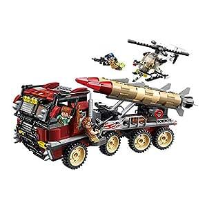 661 PCS DIY Children Educational Puzzle Building Blocks  Super Weapon Toy Assembled Toy For Kids