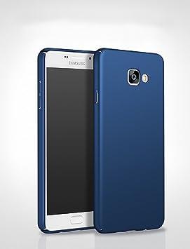 NewBreed Back Cover for Samsung J 7 Prime  Hard Back Matte Finish  Blue Cases   Covers