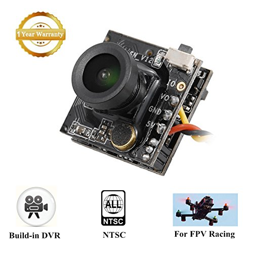 FPV DVR Camera Turbowing CYCLOPS3 5.8G Mini Video Audio Recorder DVR-CAM AIO 1/3 CMOS 700TVL 120 Degree NTSC for FPV Racing Multicopters