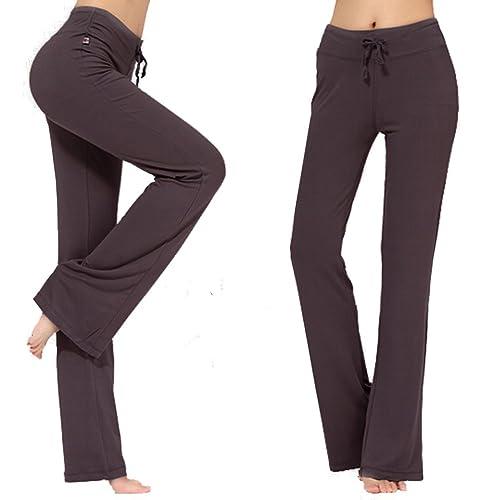 Pantalones de Yoga Pilates Pijamas Modal Agradable a la Piel Mujer PARA CON Varias Tallas y Colores