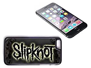 iPhone 6 Plus Black Plastic Hard Case with High Gloss Printed Insert Slipknot