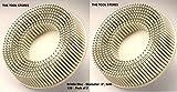 3M 00048011187372 Roloc Nylon Bristle Disc - Diameter: 3'', Grit: 120 - Pack of 2
