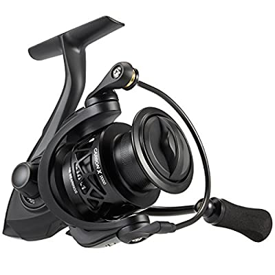 Piscifun Carbon X Spinning Reel - Ultra Light to 5.7oz, 5.2:1-6.2:1 High Speed Gear Ratio, All Carbon Frame and Rotor, 10+1 Shielded BB, Braid Ready Spool, Freshwater and Saltwater Fishing Reel