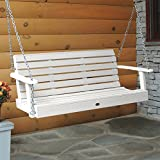 Highwood AD-PORW1-WHE Weatherly Porch Swing, 5