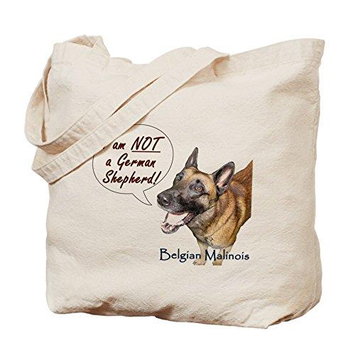 CafePress–no soy un pastor alemán.–gamuza de bolsa de lona bolsa, bolsa de la compra