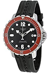 Tissot T-Sport Seastar 1000 Black Dial Automatic Men's Watch T0664071705703