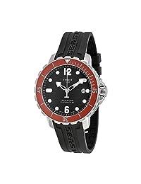 Tissot T-Sport Seastar 1000 Automatic Black Dial Black Rubber Mens Watch T0664071705703