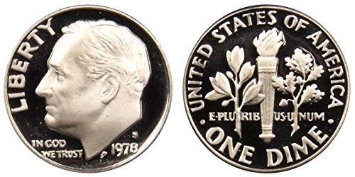 1978 S Proof Clad Roosevelt Dime PF1