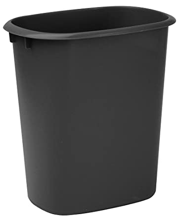 United Solutions WB0173 10 Quart Wastebasket Kitchen, Laundry Or Office  Trash Can, 2.5