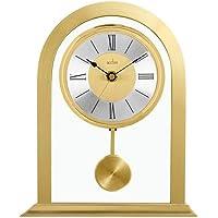 Acctim 36938Colney Metal y cristal reloj de mesa