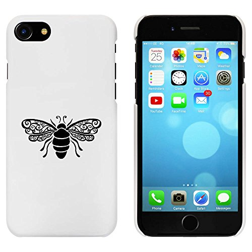 Blanc 'Abeille' étui / housse pour iPhone 7 (MC00068878)