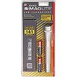 MAG-LITE(マグライト) ミニマグLED AA シルバー 単3電池 2本 SP2210H