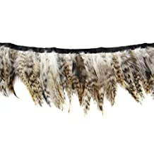 Touch of Nature 38277 Strung Grey-Chinchilla Feather, 72-Inch