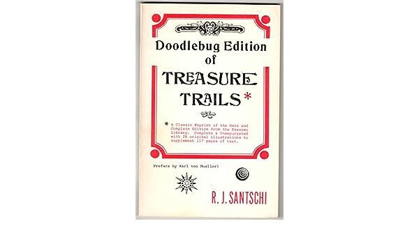 Doodlebug Edition Of Treasure Trails Rj Santschi Amazon Books