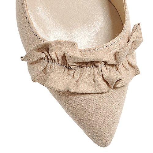 Fashion HeelHeels - Zapatos con correa de tobillo mujer Beige
