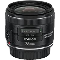 Canon EF 28mm f/2.8 IS USM Wide Angle Lens - Fixed International Version (No warranty)