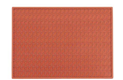 Martellato 5 Silicone Frieze Relief Mat, 30 mm, Brown