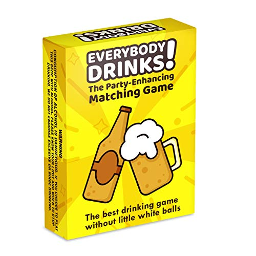 Everybody Drinks! Exciting Drinking Game for Adults. Make Your Game Night Epic with This Fun Party Game!