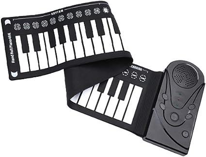 ZAGO Rollo de la Mano del Piano Teclado electrónico de Midi ...