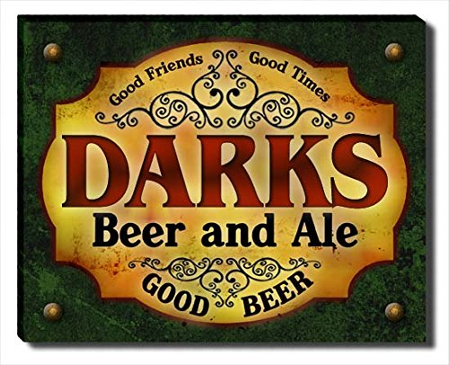 ZuWEE Darks's Beer and Ale Gallery Wrapped Canvas Print Dark Ale Frame