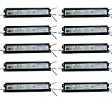 ROBERTSON 2P20158 ISL296T12MV Pak of 10 Fluorescent eBallasts for 2 F96T12 Lamps, Instant Start, 120-277Vac, 50-60Hz, NBF, HPF, (For HO lamp applications the recommended ballast is the PSB296T12HOMV)