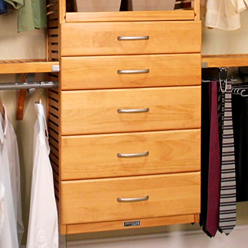 John Louis Honey Maple Door and 5-drawer Deluxe (Honey Maple Drawer)