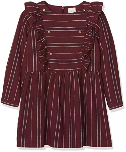 Gocco Mädchen Vestido Kleid, rot (Granate TA), 7-8 Jahren
