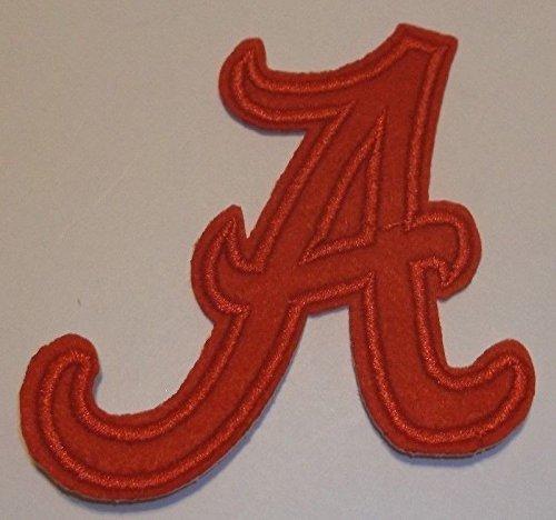 Alabama Crimson Tide Embroidered Patch~2 7/8