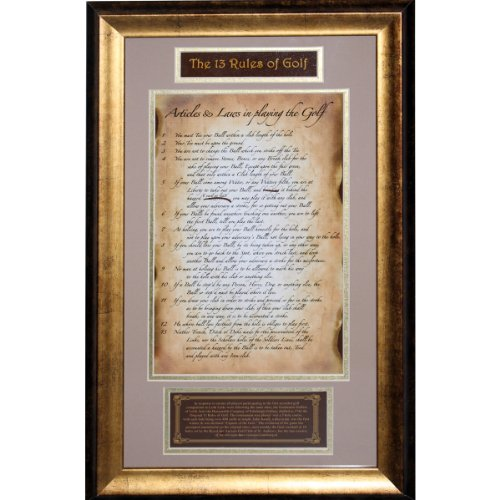 Steiner Sports Framed Original Rules product image