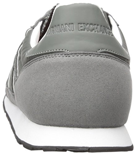 Sneaker Castor Exchange Fashion Sneaker Grey Retro X Armani A Running Men O1PSCq
