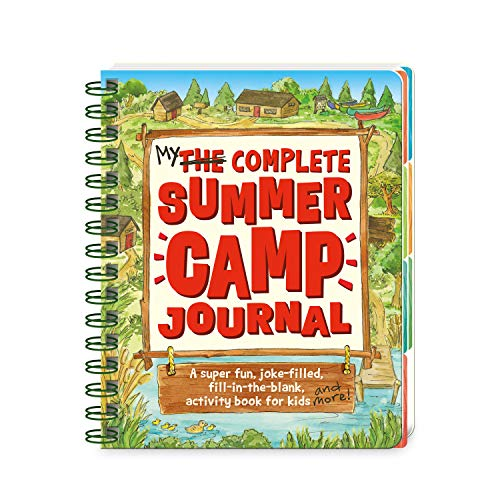 Peaceable Kingdom My Complete Summer Camp Journal - A Super-Fun, Joke-Filled, Fill-in the Blank Activity Book for Kids]()