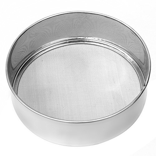 ReFaXi® Unbeatable Offer Stainless Steel Mesh Flour Sifter Sieve Strainer Cake Baking Kitchen Practical