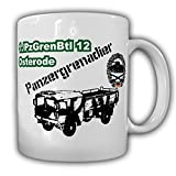 1 PzGrenBtl 12 Osterode 5-ton armored battalion grenadier company truck Kat1 Bundeswehr Badges - Coffee Cup Mug