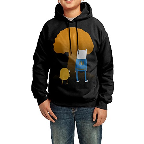 Unisex Fallout Time Youth Hooded Pullover Sweatshirt