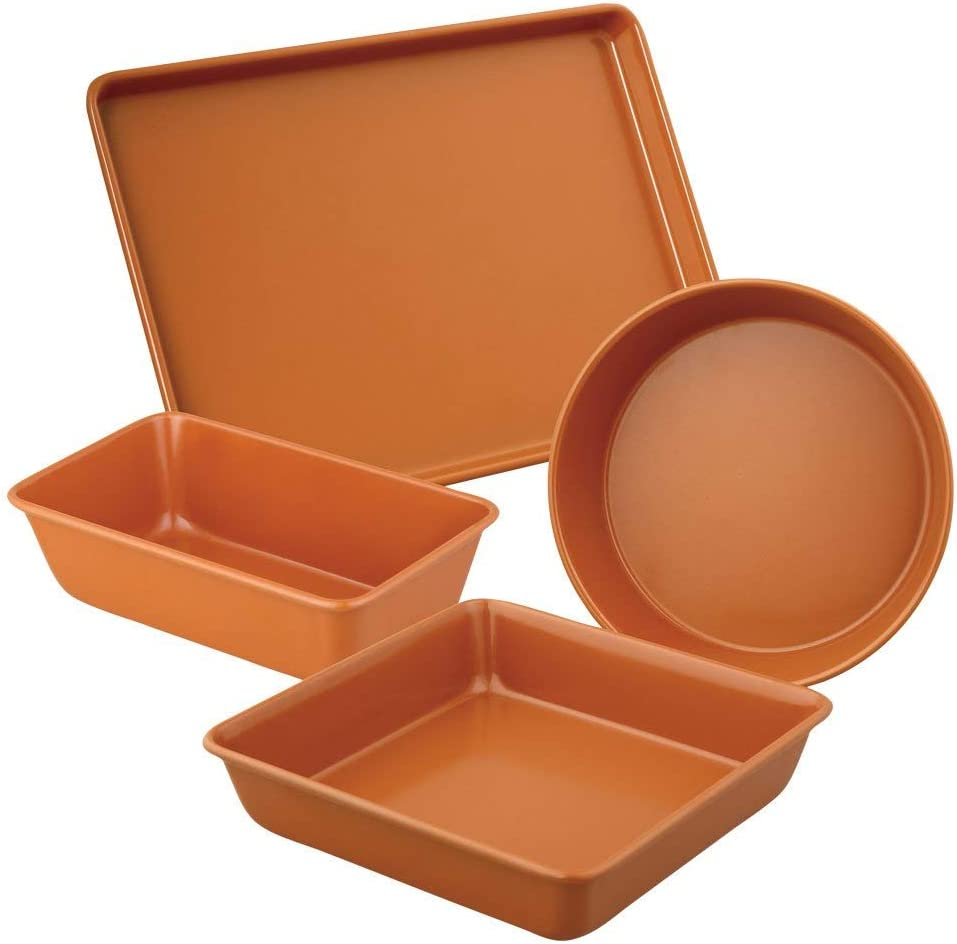 Amazon Com Culinary Edge Copper Bakeware Kitchen Dining