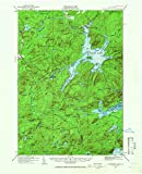 YellowMaps Cranberry Lake NY topo map, 1:62500 Scale, 15 X 15 Minute, Historical, 1919, Updated 1965, 21 x 17 in - Paper
