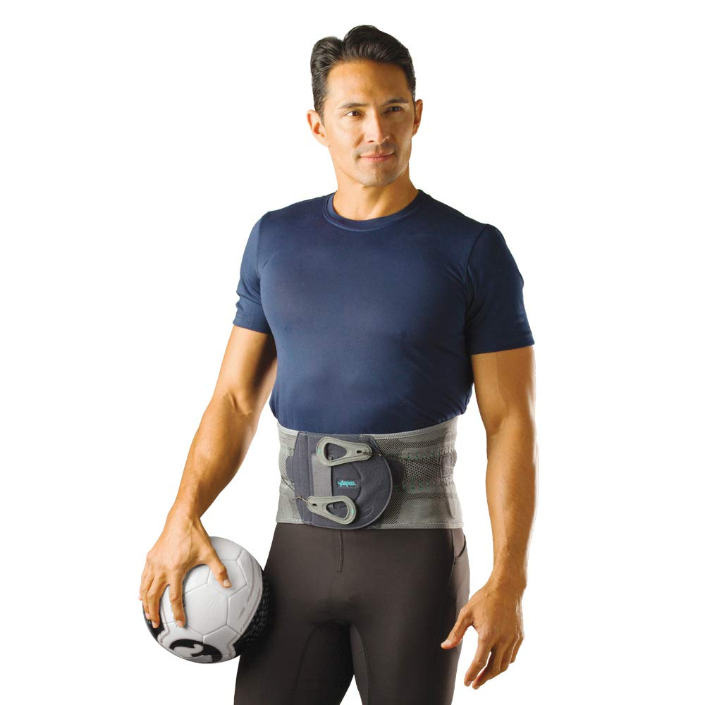 Aspen Elite Active Back Brace, Back Support fits Belly (NOT Waist) Size 47''-51'', Back Braces for Lower Back Pain Relief, Back Support Belt for Men and Women (XX-Large)