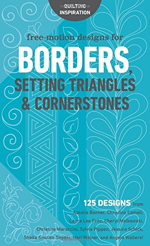 Free-Motion Designs for Borders, Setting Triangles & ()