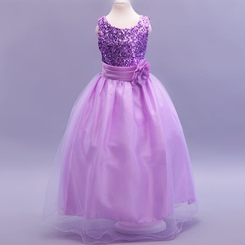 Vestido de Niña, Vestido de Lentejuel, Dama de Honor, Vestido de ...
