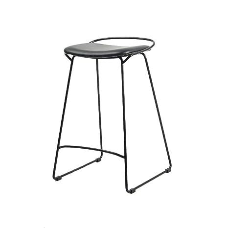 Sensational Amazon Com Bar Stool Wrought Iron Minimalist Steel Ncnpc Chair Design For Home Ncnpcorg
