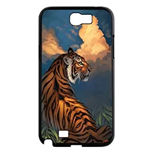 High Quality Phone Case For Samsung Galaxy Note 2 Case -Animal tiger pattern protective case-LiuWeiTing Store Case 1