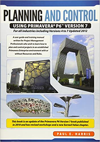 Project Planning And Control Using Primavera P6 Pdf