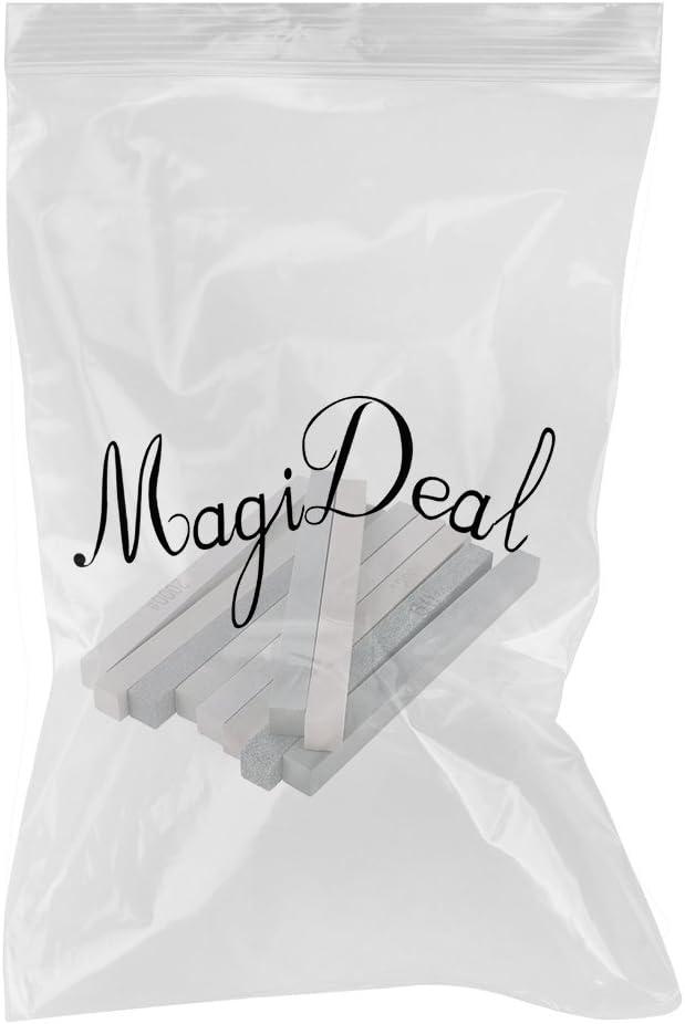 MagiDeal 10pcs Vert Carbon Huile De Pierre Jade Polissage Pierres /à Aiguiser Accessoires Pour Maison