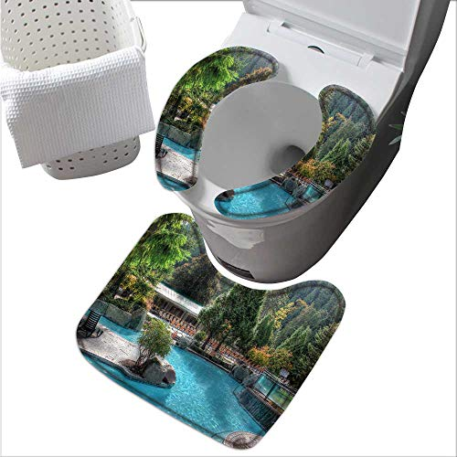 (Toilet seat Charming Harrison Suit for The Toilet L15 x W 3.5