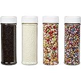 Wilton 710-1175 Everyday Mega Sprinkle Set, 4-Pack