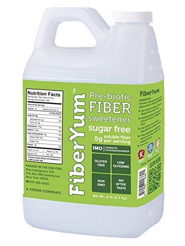 Fiberyum Imo Syrup Sweetener, 5 Pound, Pre-biotic Fiber S...